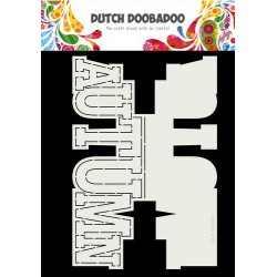 Dutch Doobadoo Card Art Autumn texst (Eng) A4 470.713.745