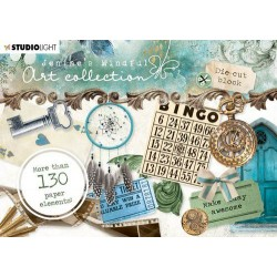 STUDIO LIGHT DIE CUT BLOCK A6, JENINE'S MINDFUL ART 01