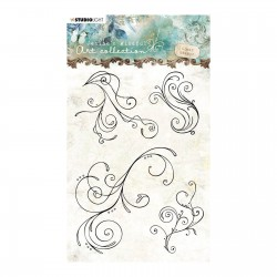 Studio Light • Clear stamp A6 Jenine's mindful art nr.02