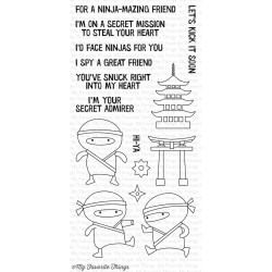 NINJA-MAZING CLEAR STAMPS