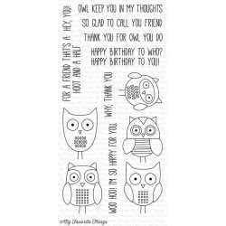 FOR OWL YOU DO CLEAR STAMPS