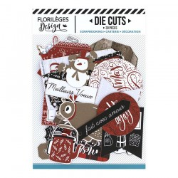 FLORILEGES DESIGN DIE CUTS CHRISTMAS COCOONING
