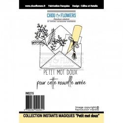 CHOU & FLOWERS CLING INSTANTS MAGIQUES - PETIT MOT DOUX