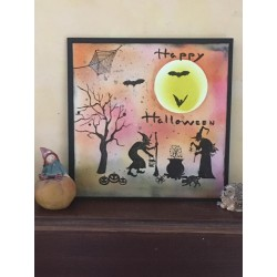 MARIANNE DESIGN CLEAR STAMPS SILHOUETTE HALLOWEEN