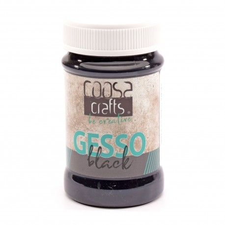 COOSA CRAFTS - GESSO BLACK 100 ML