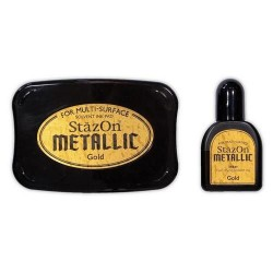Stazon Opaque METALLIC GOLD