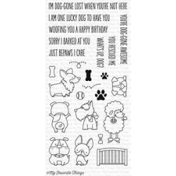 MFT LUCKY DOG CLEAR STAMPS
