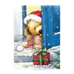 WILD ROSE CHRISTMAS PUPPY