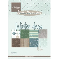 MARIANNE D PAPER PAD WINTER DREAM, 15x21 cm