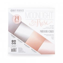 Tonic Studios MOONLIGHT & ROSE - PAPER PAD 15X15 cm
