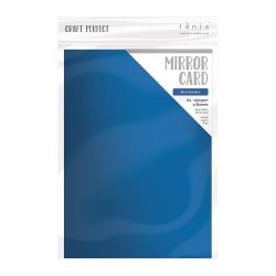 Tonic Studios mirror card SATIN PEARLESCENT CARDSTOCK - BLUE OBSIDIAN