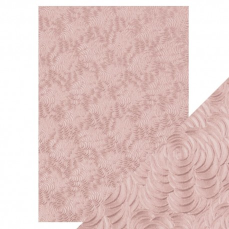 Tonic Studios SPECIALTY PAPERS PINK PETALS A4