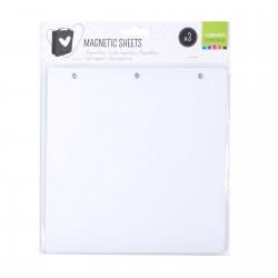 Vaessen Creative • Feuilles magnétiques pour Dossier de rangement