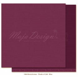 MAJA DESIGN Little street café - WINE MONOCHROMES