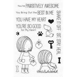 MFT YOU HAVE MY HEART  CLEAR STAMPS