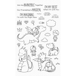MFT MAGICAL FRIENDS  CLEAR STAMPS