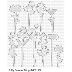 MFT FLOWER SILHOUETTES DIES