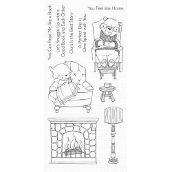 MFT COZY COMPANIONS CLEAR STAMPS