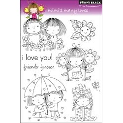 PENNY BLACK Clear Stamps - MIMIS MANY LOVES