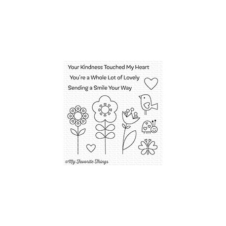 SENDING A SMILE CLEAR STAMPS