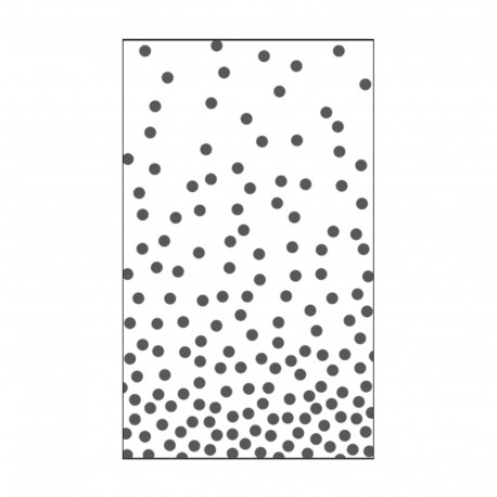 VAESSEN CREATIVE CUT EASY EMBOSSING FOLDER DOTS 1