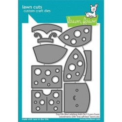 LAWN FAWN CUTS TINY GIFT BOX LADYBUG ADD-ON