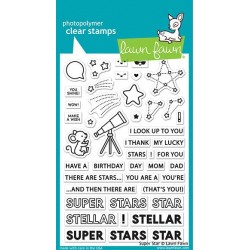 LAWN FAWN STAMPS SUPER STAR