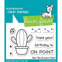 LAWN FAWN STAMPS YEAR TEN
