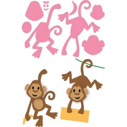MARIANNE DESIGN COLLECTABLES MONKEY