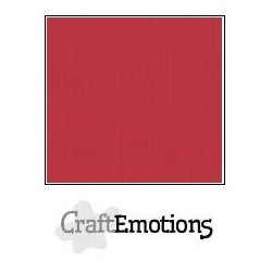 Linen Cardstock CHERRY RED