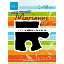 MARIANNE DESIGN CRAFTABLES  PUZZLE PIECE