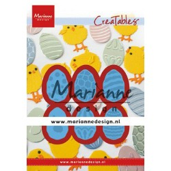 MARIANNE DESIGN CREATABLES EASTER EGGS