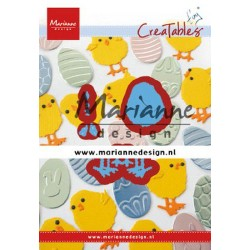 MARIANNE DESIGN CREATABLES EASTER CHICK