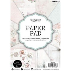 Studio Light Paper Pad A5 CLASSIC PASTEL 36 sheets 131
