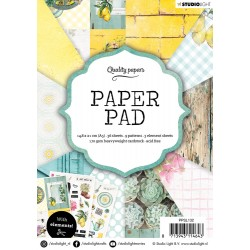 Studio Light Paper Pad A5 GARDEN 36 sheets 132