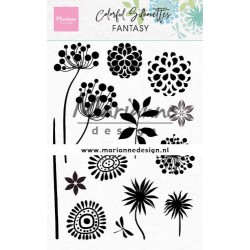 MARIANNE DESIGN CLEAR STAMPS Colorful Silhouettes Fantasy