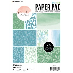 STUDIO LIGHT KARIN JOAN PAPER PAD BLOOMING COLLECTION 01