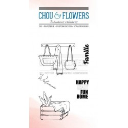 CHOU & FLOWERS TAMPONS CLEAR HOME HALL D'ENTREE 1