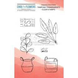 CHOU & FLOWERS TAMPONS CLEAR HOME PLANT LOVER 1