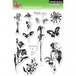 PENNY BLACK Clear Stamps - ILLUMINATION