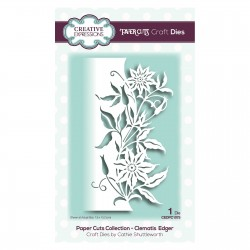 CREATIVE EXPRESSIONS CLEMATIS EDGER CRAFT DIES