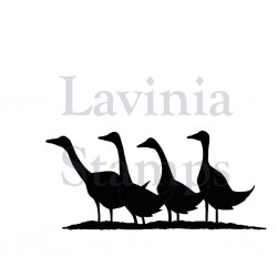 Lavinia Stamps GAGGLE OF GEESE