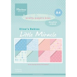 MARIANNE D PAPERS BLOC LITTLE MIRACLE A4