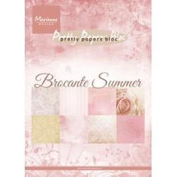 MARIANNE D PAPER PAD BROCANTE SUMMER, 15x21 cm