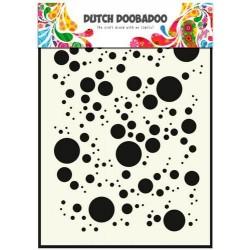 Dutch Doobadoo STENCIL MASK ART BUBBLES A5