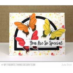 YOU GIVE ME BUTTERFLIES CLEAR STAMPS