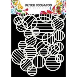 Dutch Doobadoo STENCIL MASK ART CIRCLE LINES A5