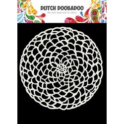 Dutch Doobadoo STENCIL MASK ART FLOWER CIRCLE 15 x 15 cm
