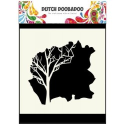 Dutch Doobadoo STENCIL MASK ART TREE 15 x 15 cm