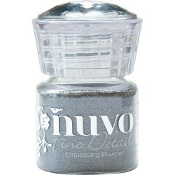 NUVO EMBOSSIING POWDER FINE DETAIL SILVER